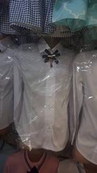 Школьные рубашки оптом белые